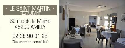 Restaurant Le Saint Martin Amilly